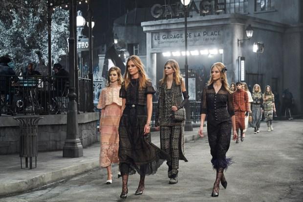 chanel pre fall 2016 moda e cinema 60s desfile blog got sin 33