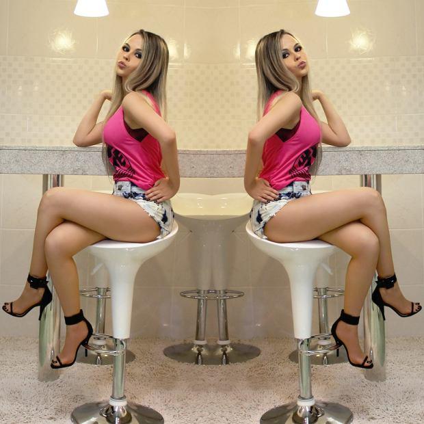 sininhu sylvia santini shorts curto machismo girl power meu look blog got sin