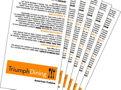 Gluten-Free Dining Cards Review