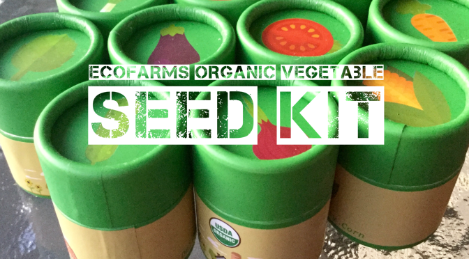 ecofarms organic vegetable seed kit