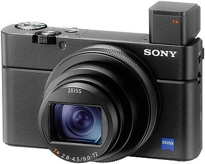 Sony RX100 VII camera view