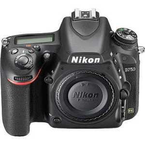 Nikon D750 DSLR camera overview