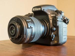 reverse-mounted 18-55mm macro