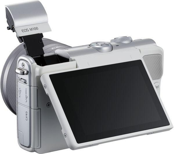 Canon EOS M100 screen