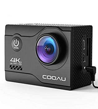 Cooau action 4k camera