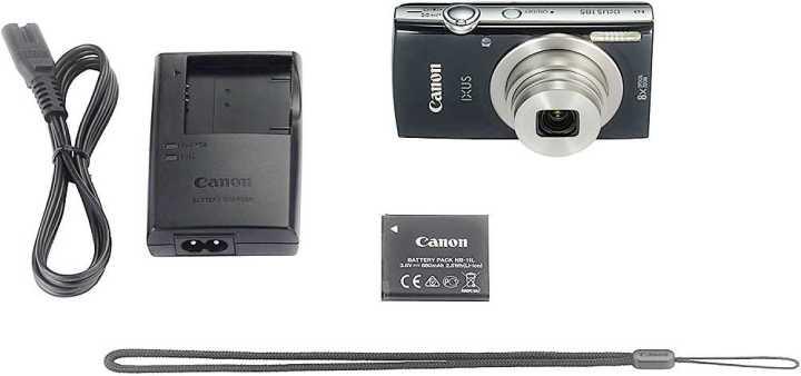 Canon IXUS 185 box content