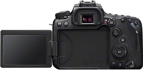 Canon EOS 90D mobile display
