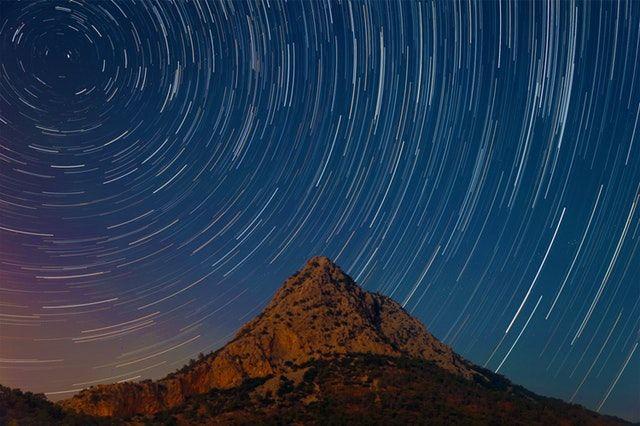 stars long exposure