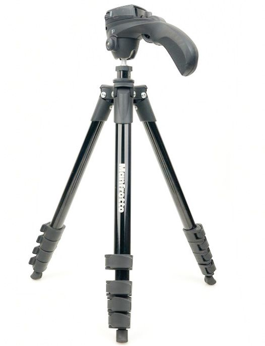 Manfrotto MKCOMPACTACN-BK tripod overview