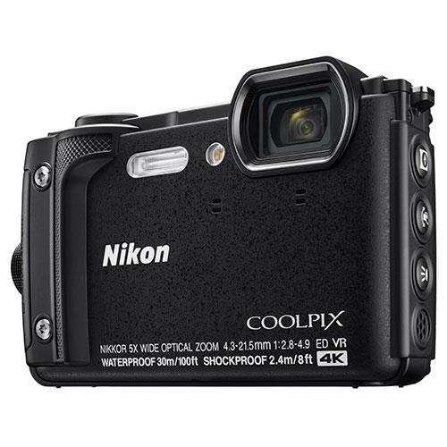 Nikon W300 front view
