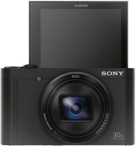 Sony WX500 screen