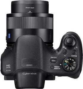 Sony Cyber-Shot DSC-HX350 top view