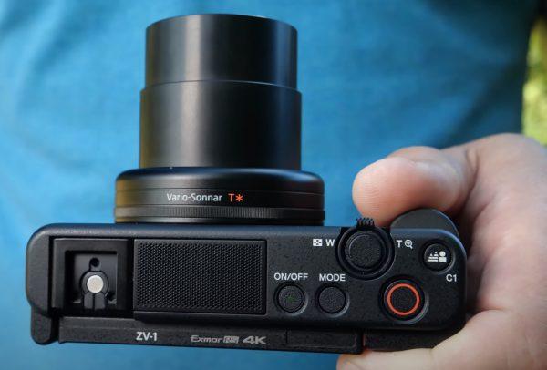 Sony ZV1 lens