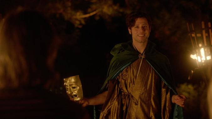 To be fair, this is Eliot's regular Tuesday cloak.