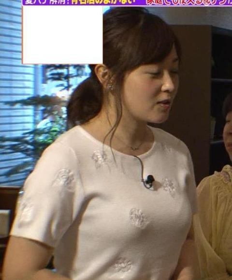 【神画像】水卜麻美アナ(30)の迫力のロケット乳がエロすぎてやべえええええ