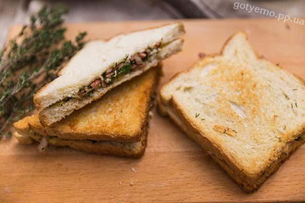 готовий сендвіч