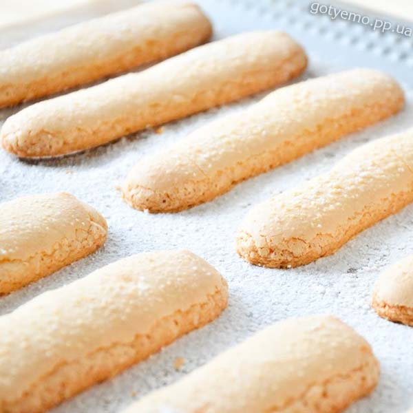 бісквітне печиво «Савоярді»