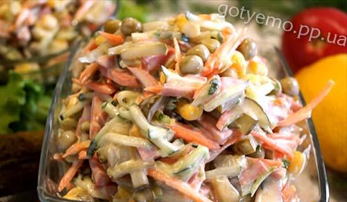 салат хрумкий
