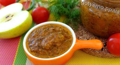 рецепт томатного соусу Чатні