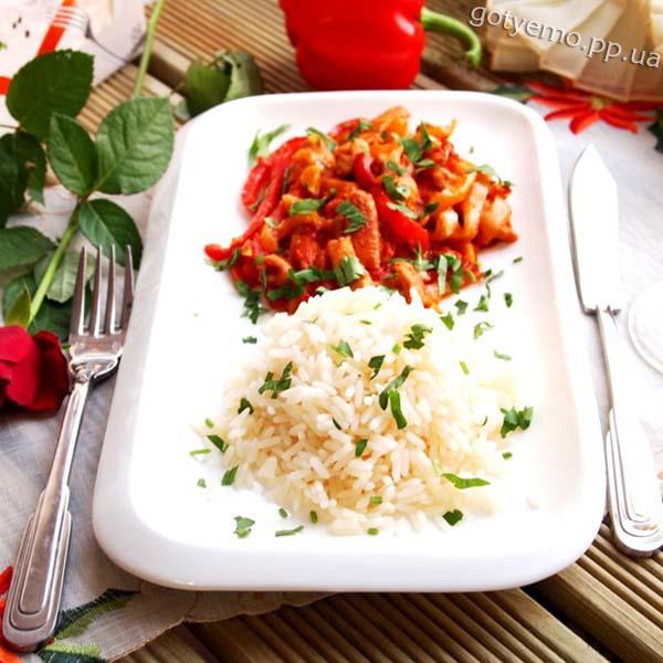 Товук сай з рисом - рецепт