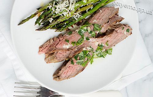 рецепт часникового соусу для стейка