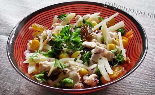 """Рецепт салату """"Салпіко"""""""