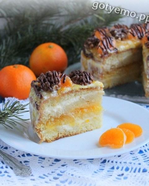 Мандариновий торт