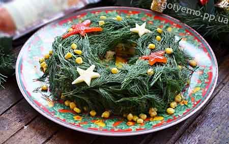 рецепт салатів на різдво