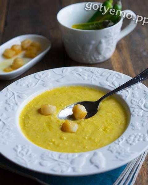 Суп-пюре із кукурудзи