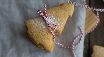 Рецепт різдвяних імбирних пряників