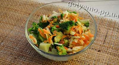 Рецепт салату з брокколі