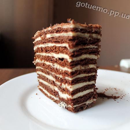 торт спартак - рецепти господині