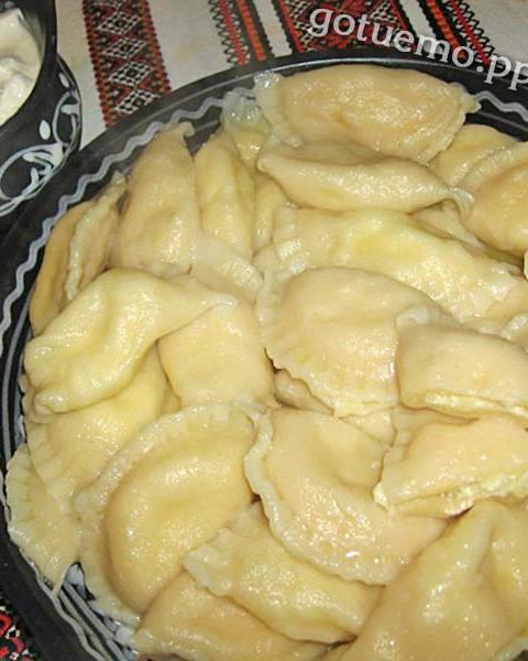 вареники з картоплею і сиром