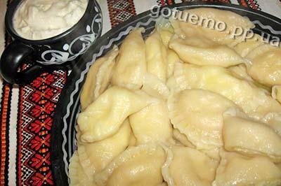 вареники з сиром і картоплею