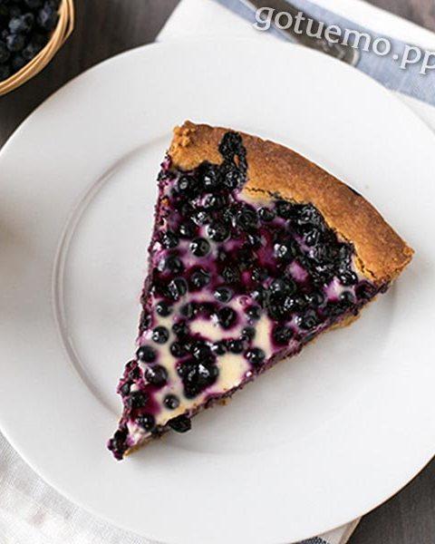 рецепт пирога з чорницею