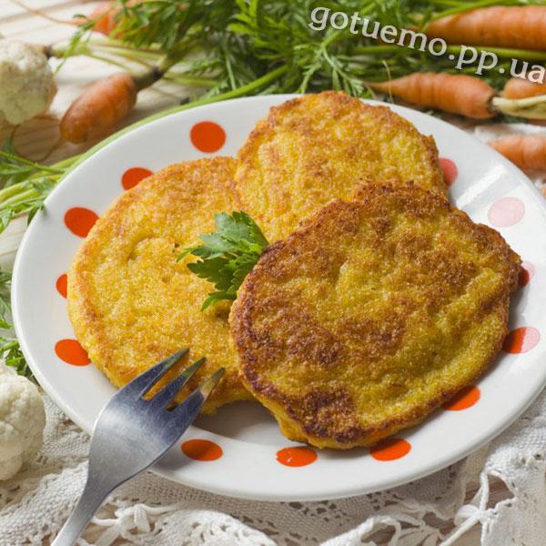 рецепт оладок з цвітної капусти