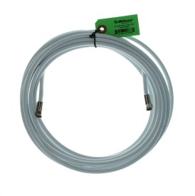 30 ft White RG6 Low Loss 75 ohm Coax F-Male to F-Male