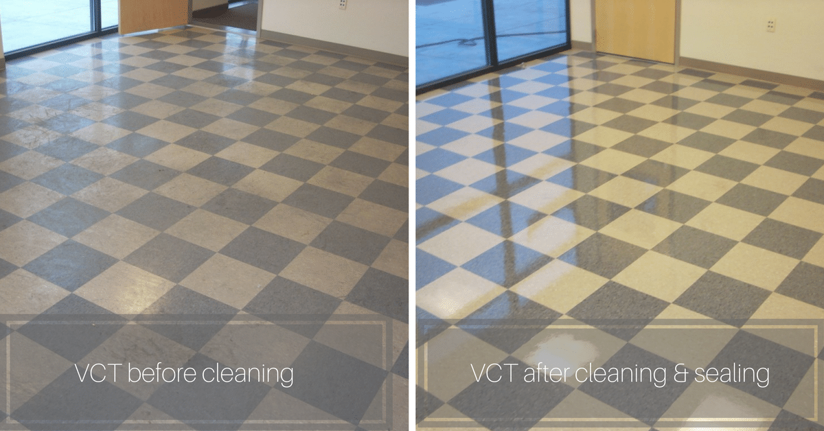 vct cleaning and sealing commercial