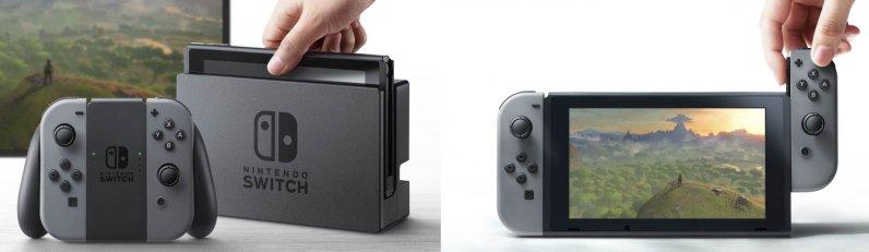 nintendo switch deux modes