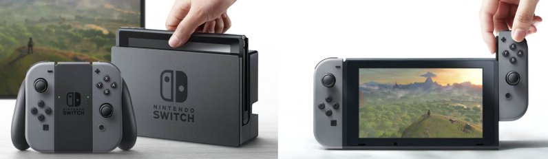 nintendo switch deux modes