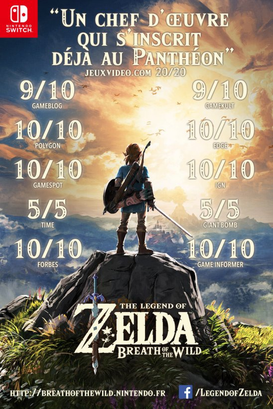 Avis Zelda Switch - gouaig