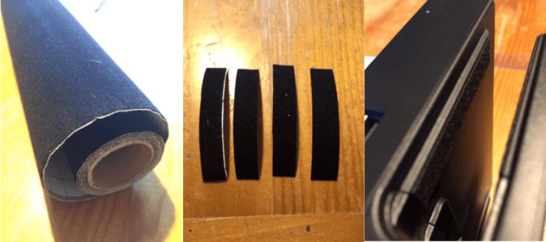 Eviter rayure switch feutrine
