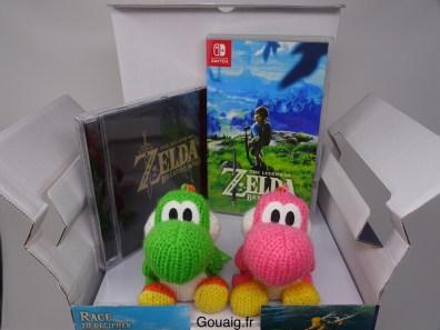 Le CD et le jeu sont à nous ! Yoshi !