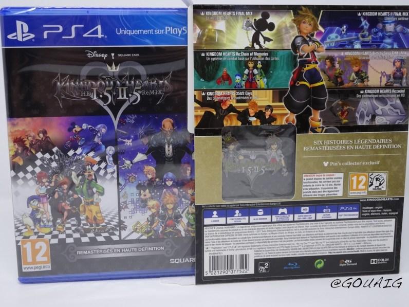 Unboxing Kingdom Hearts 1.5 2.5 HD Edition limitée - Gouaig - 4