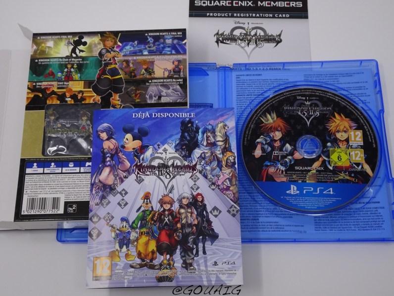 Unboxing Kingdom Hearts 1.5 2.5 HD Edition limitée - Gouaig - 8