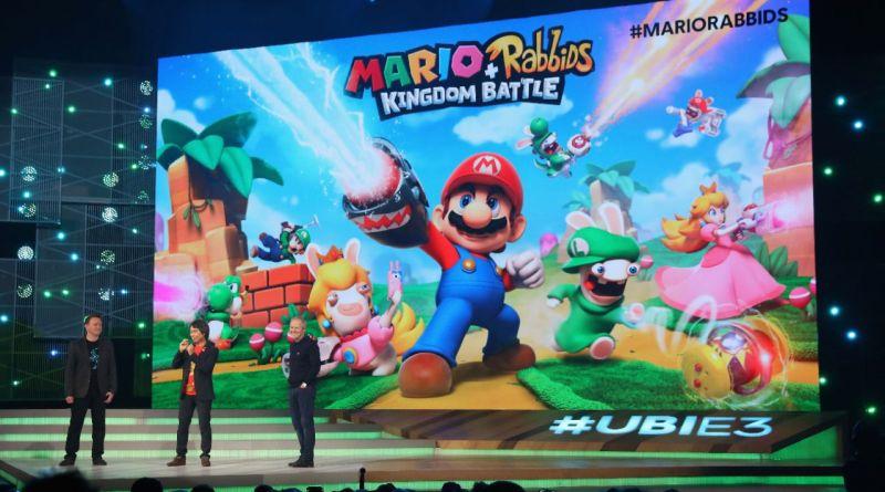Mario lapins cretins