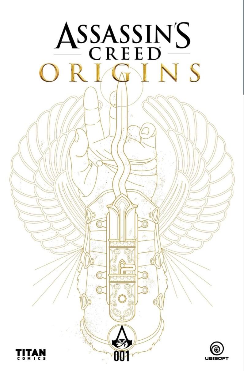 Couverture Comics Assassin's Creed Origins