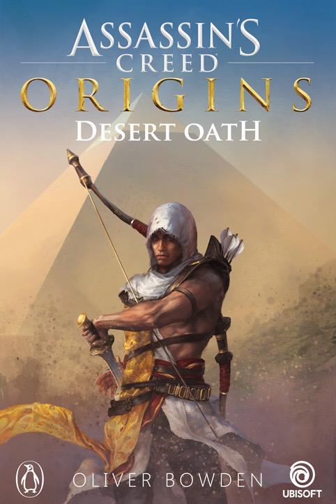 Couverture roman Assassin's Creed Origins