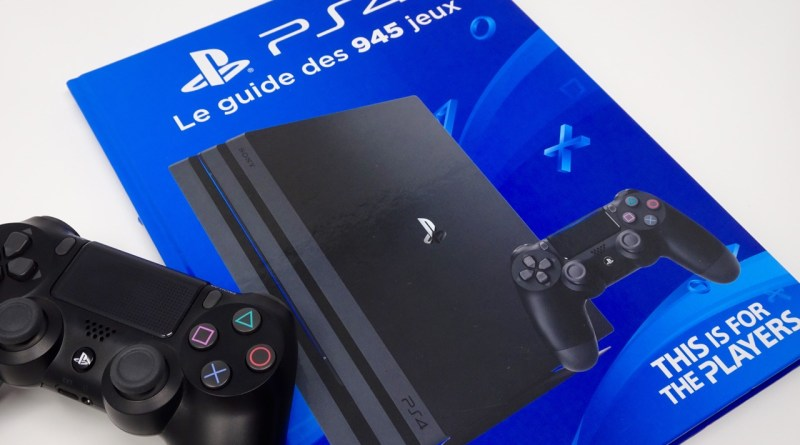 guide jeux PS4