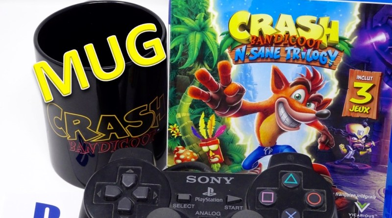 Mug Crash Bandicoot